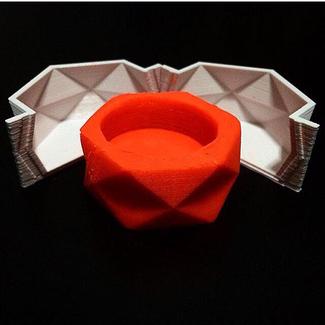 Produção de moldes em impressora 3D